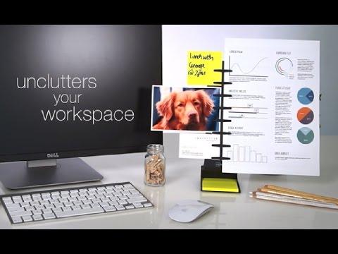 NoteTower™ Desktop Pro - Note & Copy Holder