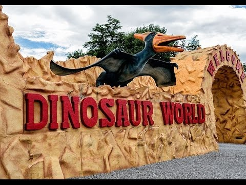 Dinosaur World, Awesome roadside attraction in Cave City, KY