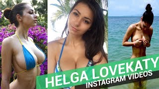 Helga Lovekaty Instagram Videos | Nueva novia James Rodriguez