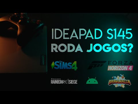 Ideapad S145 I7 Roda Jogos? Parte 2 - The Sims 4, Forza H.4, R6 E +