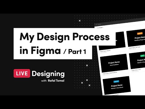 Live Designing 04: My Design Process in Figma (Part 1)
