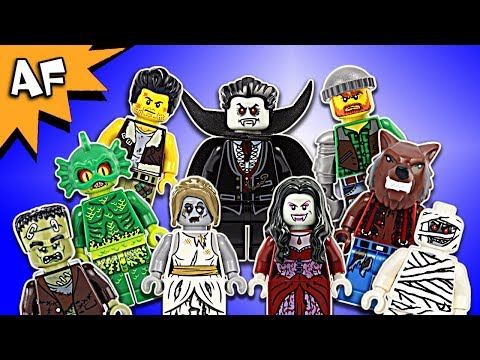 Lego Monster Fighters Minifigures Complete Collection