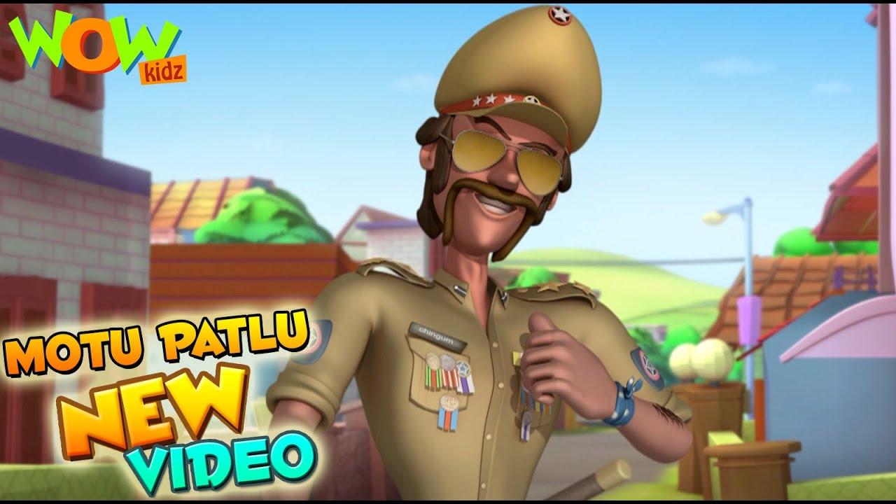 Motu Patlu | Funny Scenes | New videos | Wow Kidz |  Compilation 08