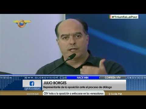 Julio Borges: Hasta ahora no se ha firmado un preacuerdo