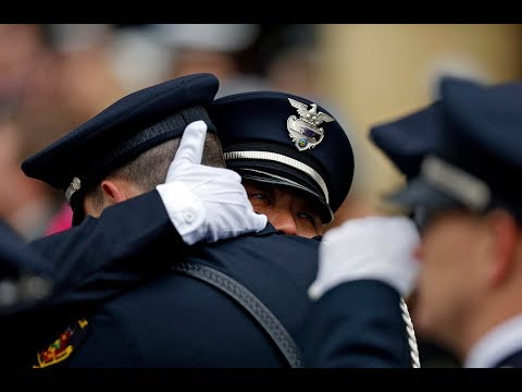 Thousands gather for funeral to honor fallen Westerville officers