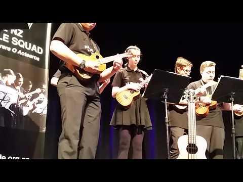 NZ Ukulele Senior Squad - Limehouse Blues - James Hill Concert support act