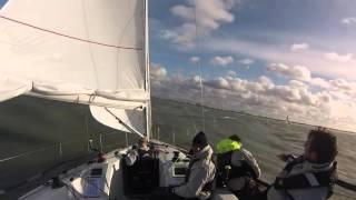 ITALIA 998 sailing IJspegel in Scheveningen