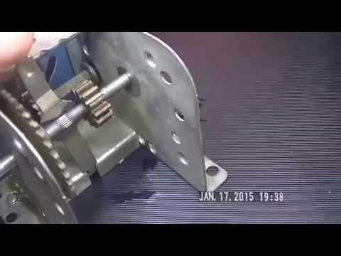 Vintage Gilbert Erector set 120VAC motor