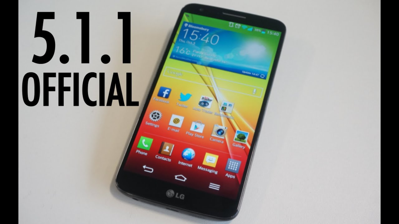 android 5.1.1 lg g2