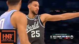 Team World vs Team USA 1st Qtr Highlights | Feb 15, 2019 NBA Rising Stars Game