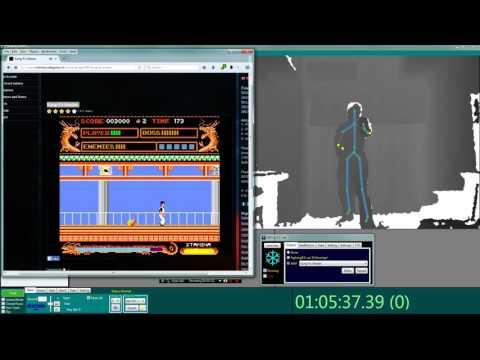 Kung-Fu Master with Kinect (UKI - ICE Lab, Ritsumeikan)