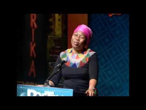 Gcina Mhlophe - Poetry Africa 2010