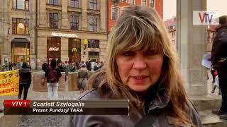 PROTEST PRZECIWKO ZMIANIE W PRAWIE ŁOWIECKIM - © VTV
