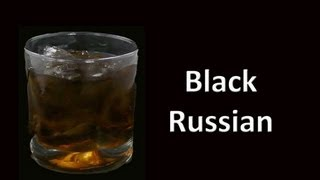 Black Russian Cocktail Drink Recipe