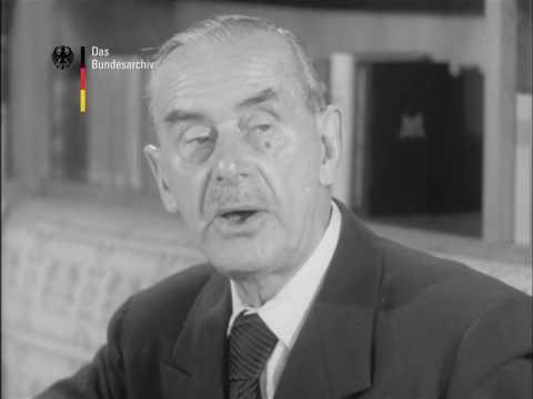 Thomas Mann 1953 © Bundesarchiv