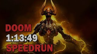 Doom :: All Secrets SpeedRun - 1:13:49 (World Record)