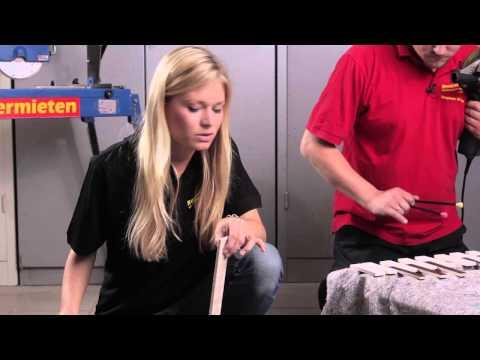 Video Die Fliesenschneider - Rentas Werkzeugvermietung