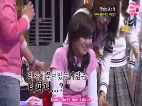 SNSD Tickles Wronged Tiffany