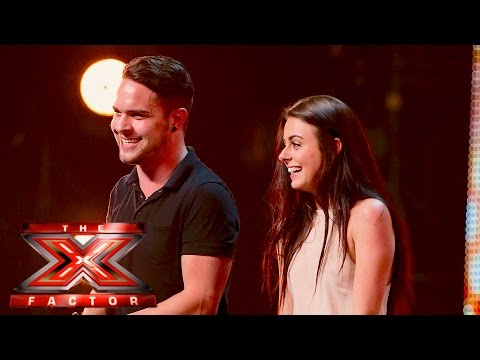 Louel have got chemistry | Auditions Week 4 | The X Factor UK 2015