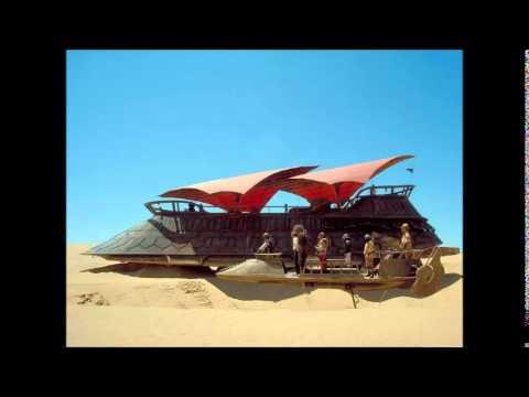 Ruf Dug - Jabba barge, parallel universe