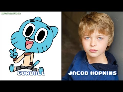 The Amazing World Of Gumball Voice Actors