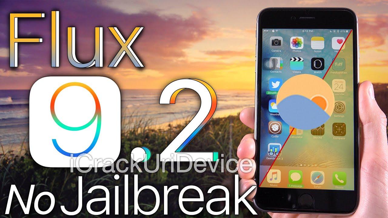 Install Flux iOS 9.2 NO Jailbreak - iOS 9.2.1 ANY iPhone, iPad