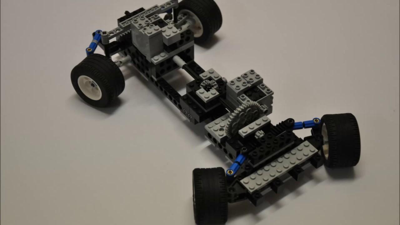 All wheel steering model model x 1 uoit chassis system for Benetton 4 wheel steering