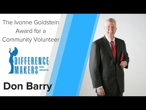 Difference Makers for Wichita 2018 — Don Barry