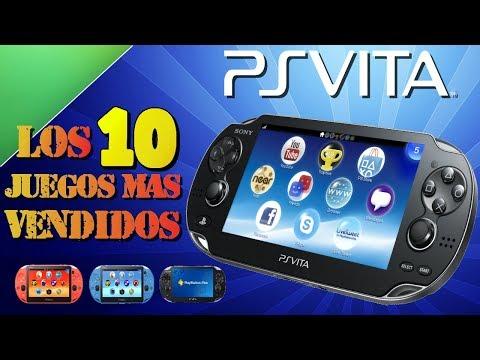 Los 10 juegos mas vendidos de la PS Vita