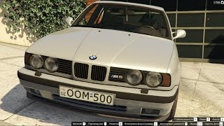GTA 5 BMW M5 E34 OOM 500