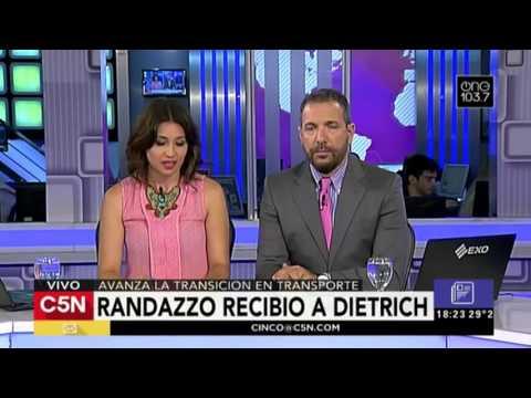 C5N – Política: Randazzo recibió a Dietrich