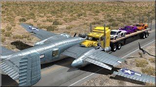 BeamNG Drive Trucks Vs Planes