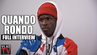 Quando Rondo on Getting Dozens of Arrests, Not a Crip, NBA Youngboy (Full Interview)