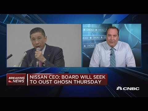 Nissan CEO: Board will seek to oust Ghosn Thursday