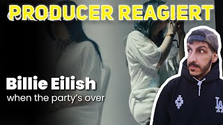 Producer REAGIERT auf Billie Eilish – when the party's over - Live at Coachella 2019