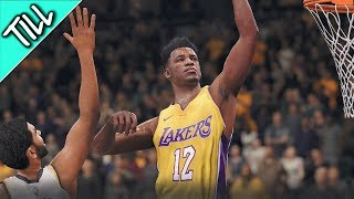 NBA LIVE 18 The One Story Mode - Pt.11 FIRST GAME AS A STARTER
