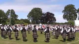 Buchan Petersen Pipe Band at Aberdeen Games