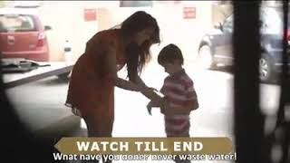 #SAVE WATER AND HELP OTHERS. SHARE THIS VIDEO TO SPREAD AWARENESS.