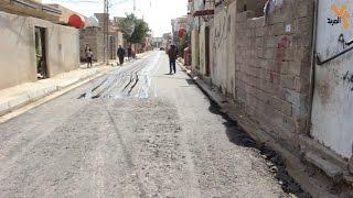 جانب من الاعمال الخدمية  في محافظة البصرة