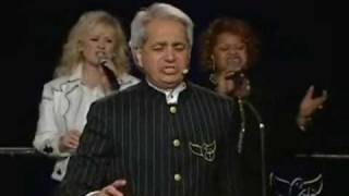 "Benny Hinn sings ""The Old Rugged Cross & The Blood"""