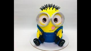 """Оформление 3D торт """" Миньон """""""