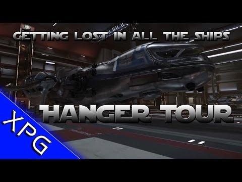 Star Citizen - Delux Hangar and Fleet Tour (EPIC SHIPS!)