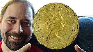 Hong Kong 20 Cents 1980 Coin