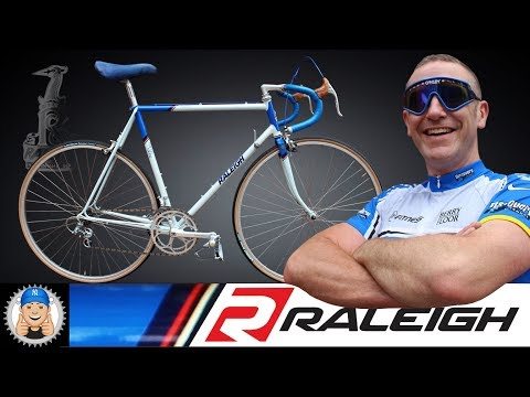 Vintage Raleigh Road Ace 531c Road Bike Restoration