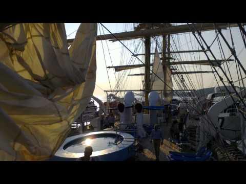 Royal Clipper sailing