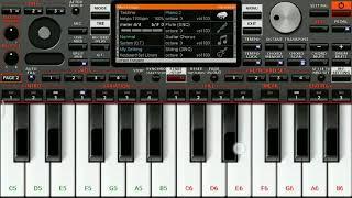 Ratsasan theme | psycho BGM | piano keyboard notes |
