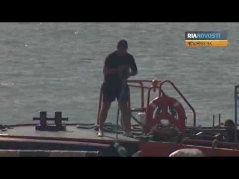 Russian Navy's spetsnaz against pirates