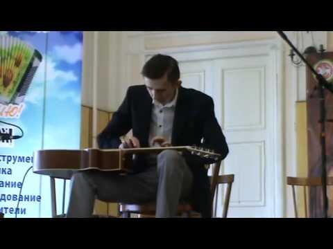 Erik Mongrain - Air Tap (cover Maxim Pechenin)