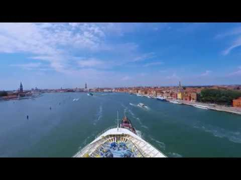 Port of Venice on the Vision of the Seas