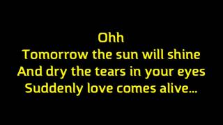 """Song For The Unloved"" Backstreet Boys (Lyrics/Karaoke) Album: Never Gone"